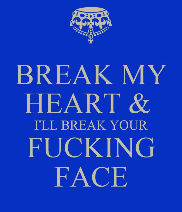 I heart your fucking makeup