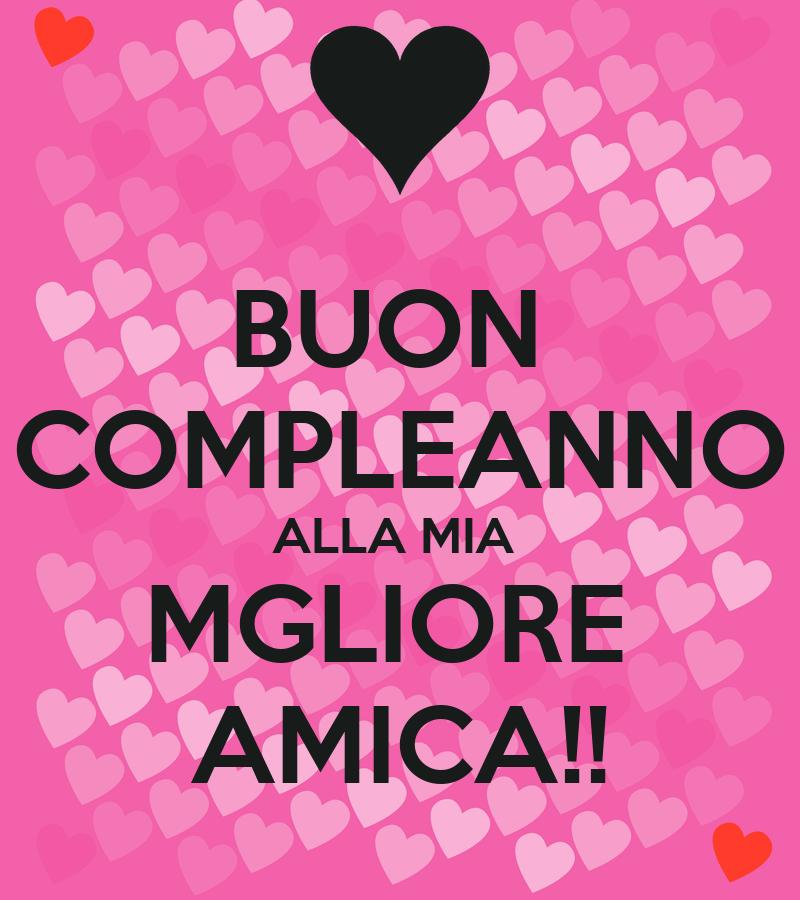 Auguri Matrimonio Migliore Amica : Buon compleanno alla mia mgliore amica poster silvi