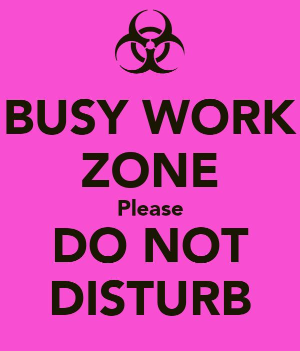 Please Do Not Disturb Me Image Mag