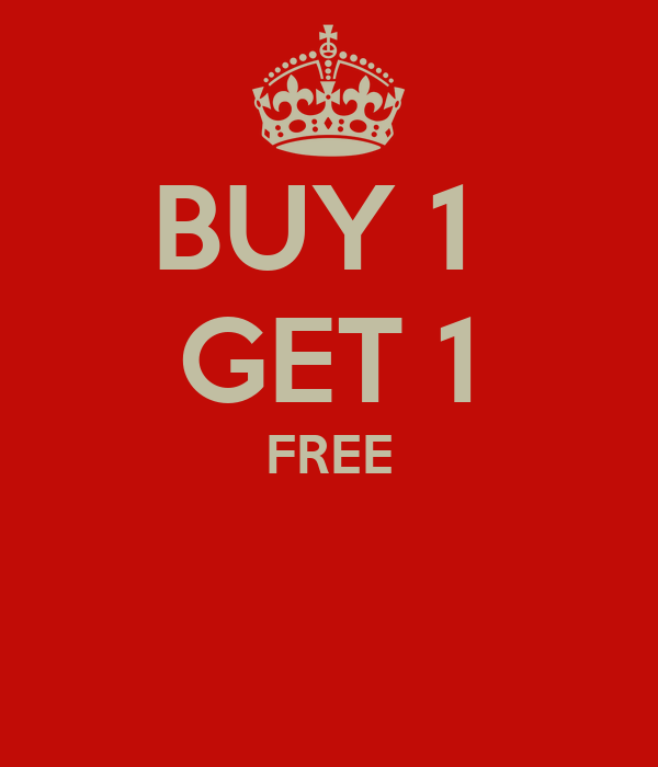 Buy One Get One: BUY 1 GET 1 FREE Poster