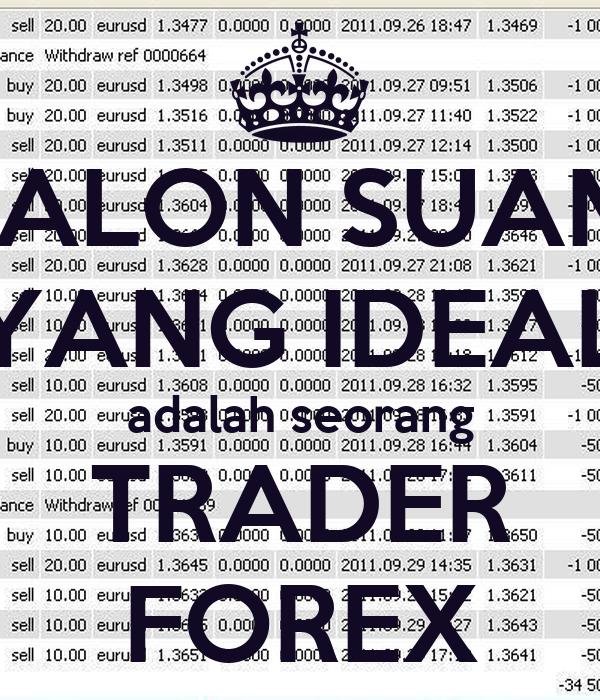 Forex trader adalah