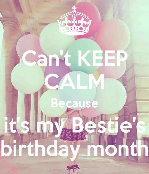Happy Birthday Bestie Cake