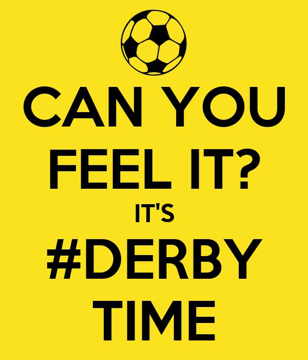 Derbytime Sprüche