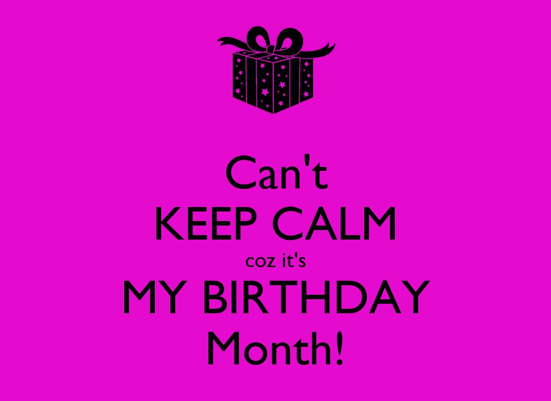 my birthday month - HD1100×800