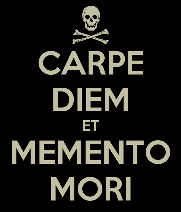 an analysis of the proverbs carpe diem and memento mori in a separate peace the great gatsby dead po