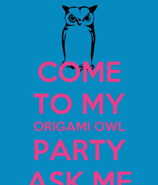 Origami Owl Party by Aosoth-Nightwalker on DeviantArt | 700x600