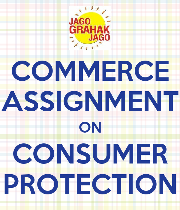 online commerce and consumer protection essay The anticybersquatting consumer protection act protects businesses trademarks in cyberspace, by making it illegal for others to create a confusingly similar domain name with the intent to profit off the trademark without regards to the goods or services of the.