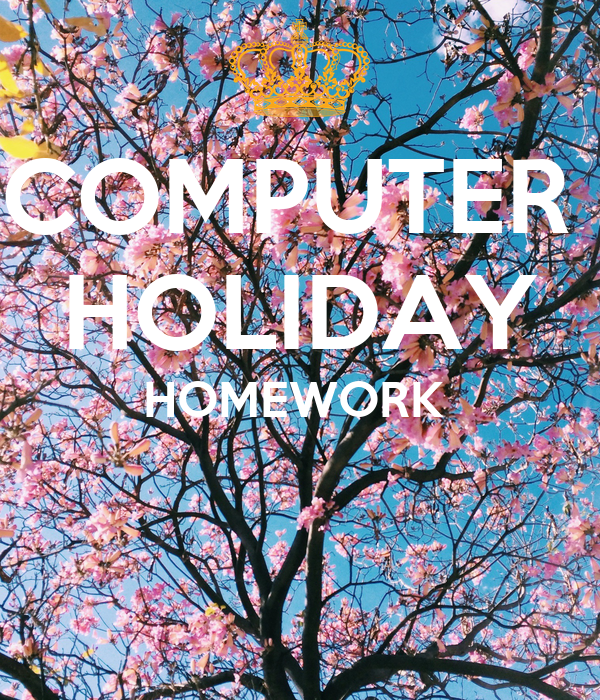 Holiday homework computer science literature review on curriculum