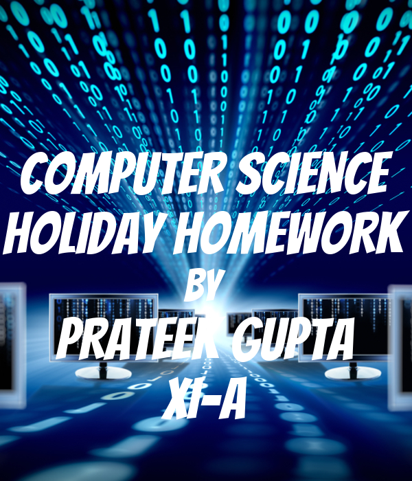 Holiday homework computer science how to write a flirtatious email
