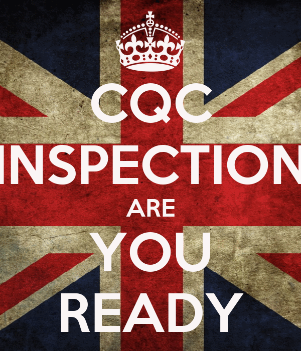 Kinder Garden: CQC INSPECTION ARE YOU READY Poster