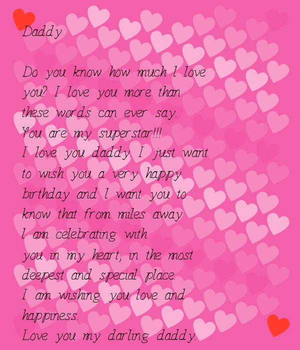 Daddy Do You Know How Much L Love You? I Love You More