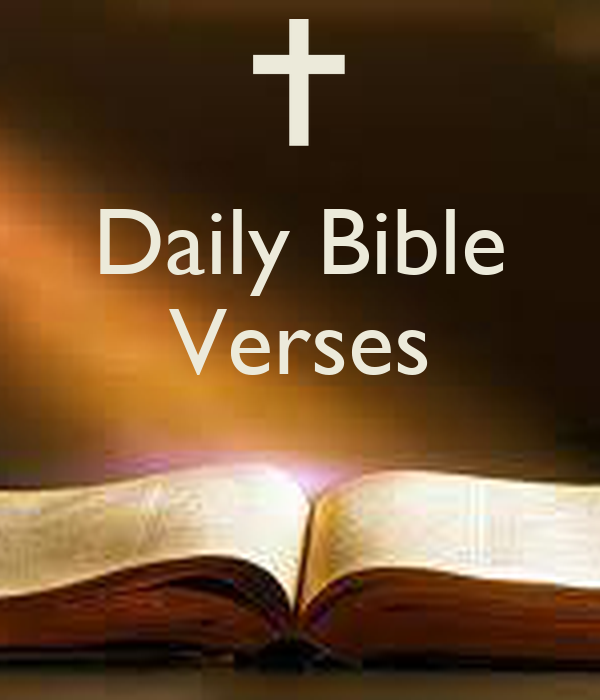 Daily Bible Quotes Text: Daily Bible Verses Poster