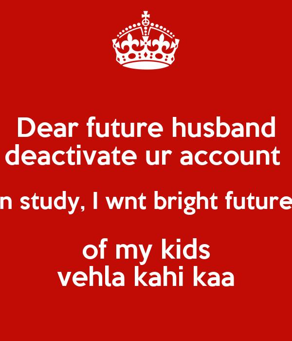 my future hubby