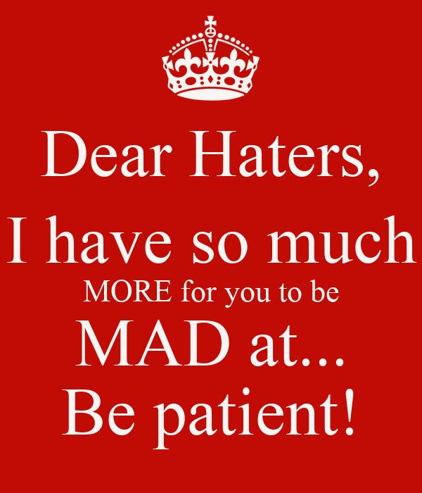bad patient quotes