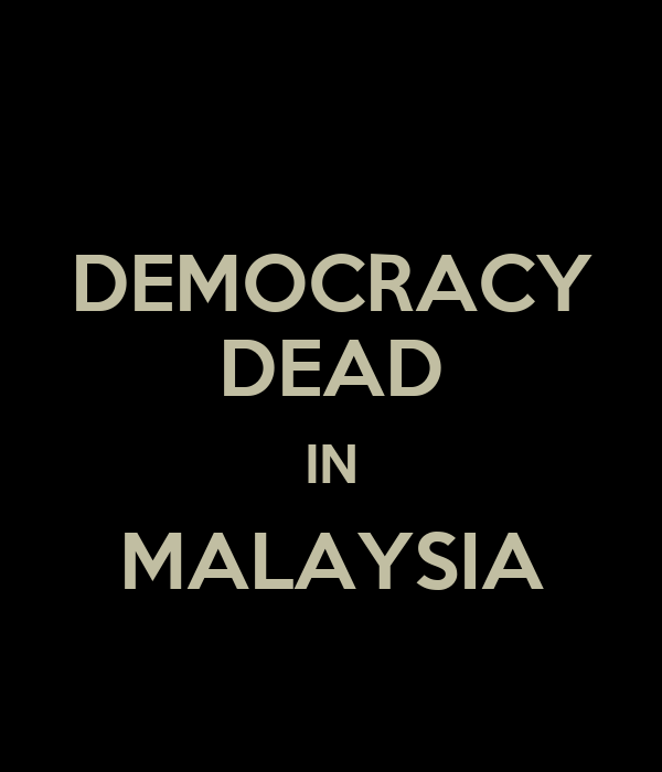 democracy in malaysia Kuala lumpur: the leader of malaysia's biggest pro-democracy group said on tuesday (mar 6) she will stand for parliament in a general election under the banner of an opposition alliance maria chin abdullah is chairwoman of the activist group bersih, which means clean in the malay language, and.