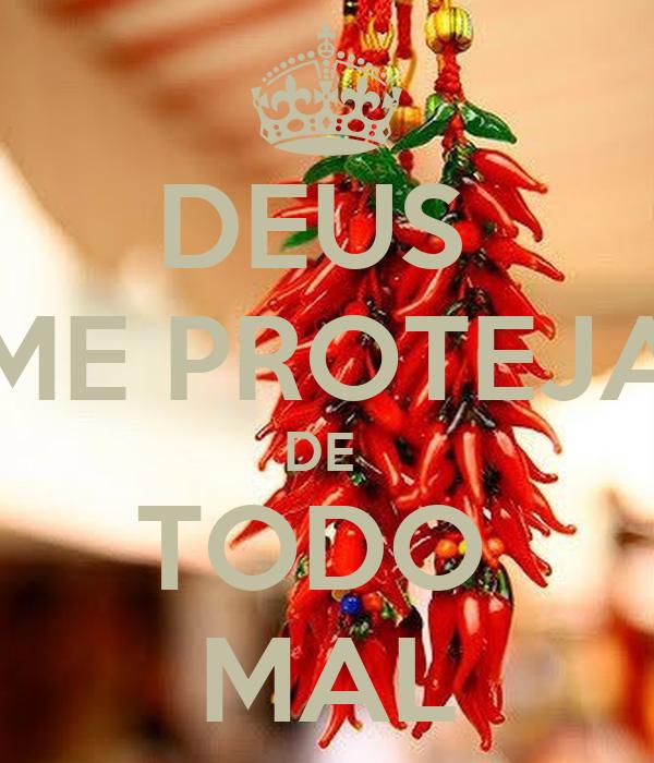 DEUS ME PROTEJA DE TODO MAL Poster | sheila_psilva5 | Keep