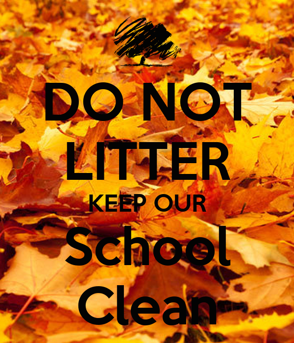 cleanliness of our school How important is cleanliness  students develop good habits of cleanliness today, some school grounds are so full of litter  is cleanliness practiced in our.