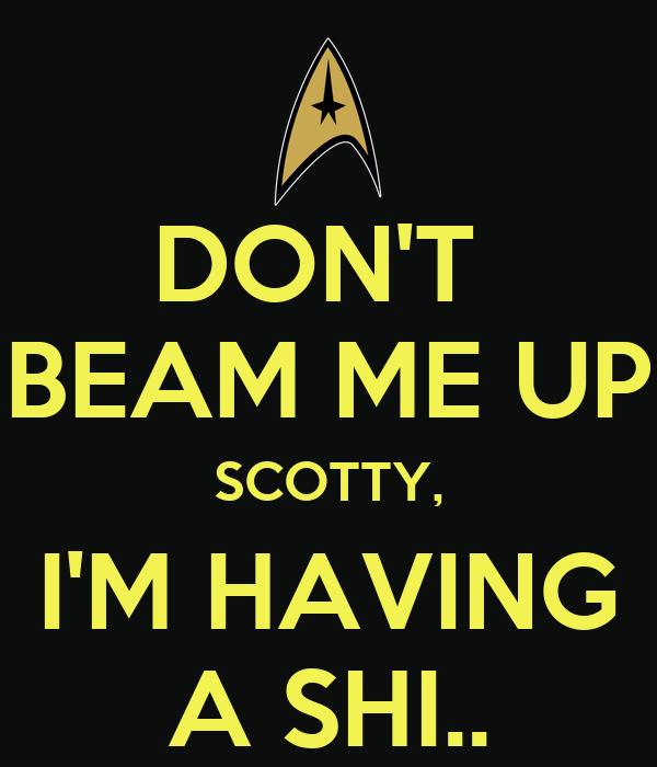 Scotty, Beam Me Up! - Star Trek IV - YouTube