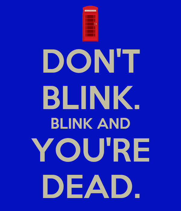 dont blink essay Blink: the power of thinking without thinking • we don't know where our first impressions come from or precisely what they mean, so we don't.