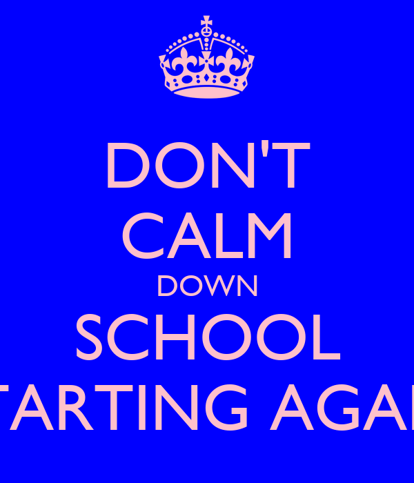 Funny Quotes About Starting School