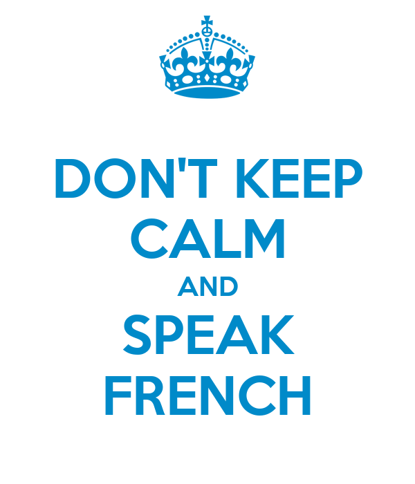 how to say i don t speak french