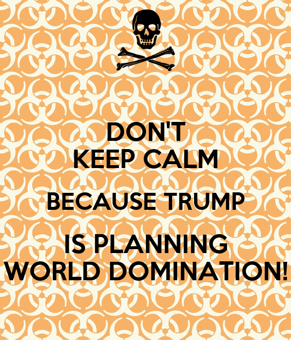 Domination planning were world would what