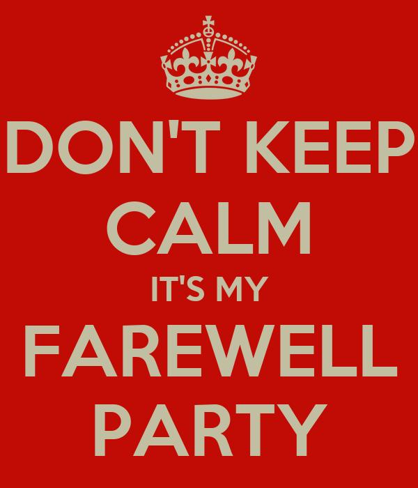 Invitation Farewell Party for perfect invitations sample
