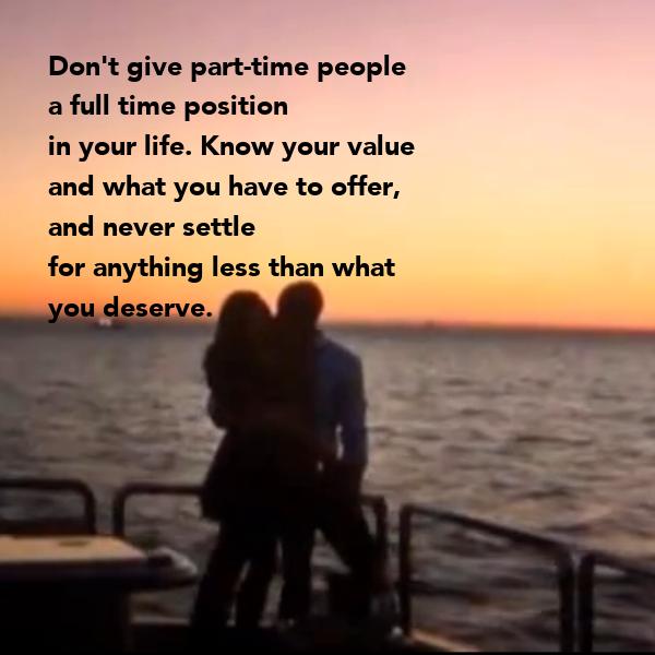 i don t deserve anything
