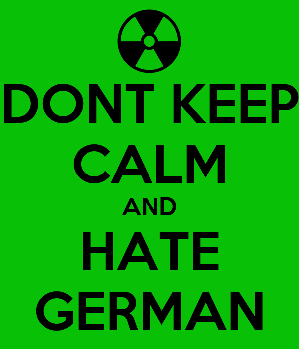 Hateful Deutsch