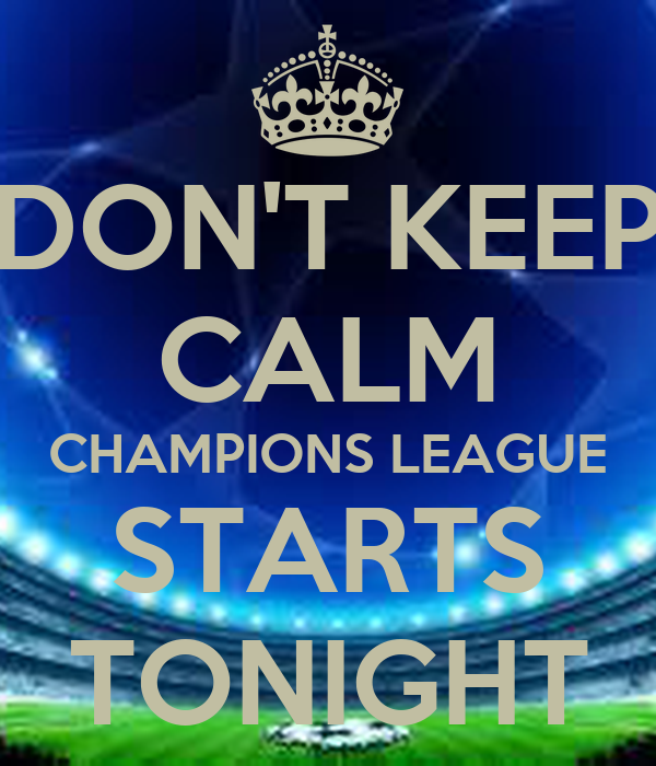 champions league tonight