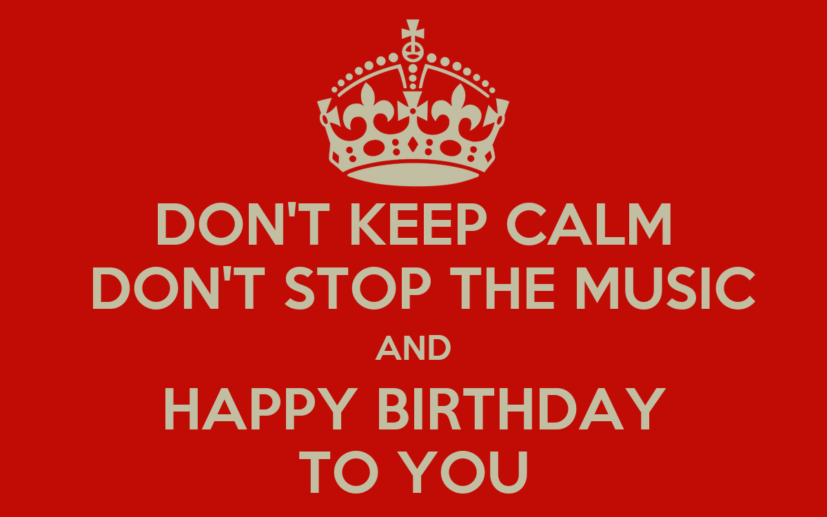 Calm Happy Music Music And Happy Birthday