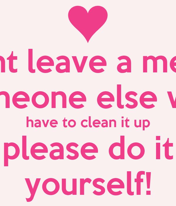Clean up your mess htb