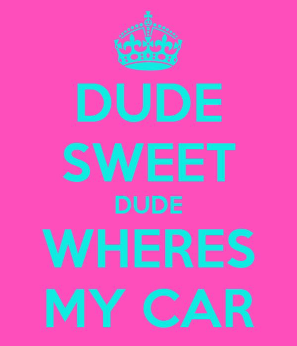 Dudes vs Dude Sweet Dude Wheres my Car