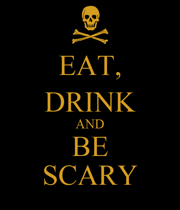 You searched for: eat drink be scary! Etsy is the home to thousands of handmade, vintage, and one-of-a-kind products and gifts related to your search. No matter what you're looking for or where you are in the world, our global marketplace of sellers can help you find unique and affordable options. Let's get started!
