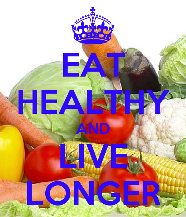 Eat to live healthy essay