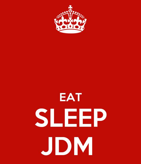 Pin Eat Sleep Jdm Red Monster Sticker Bomb New Cover Gift ...