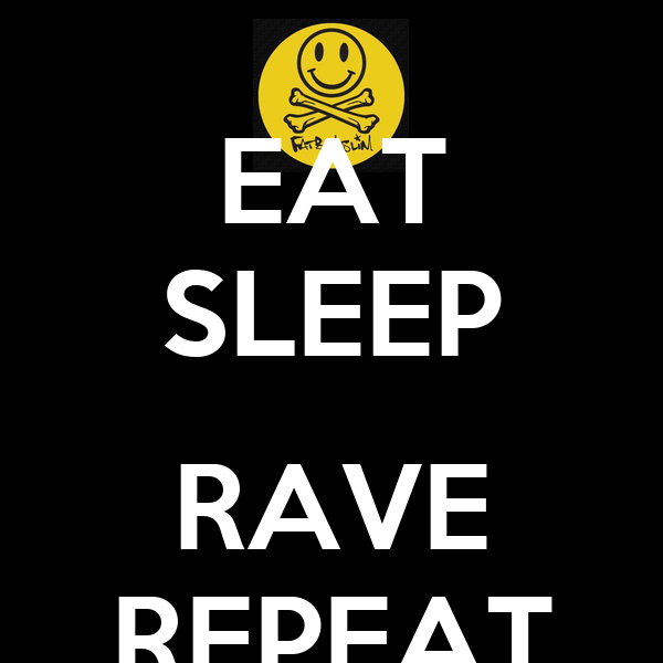 eat sleep rave repeat keep calm and carry on image generator