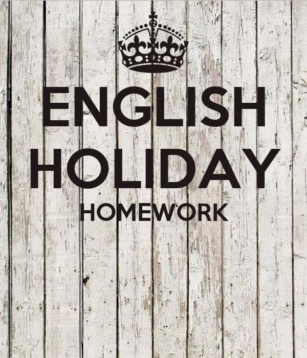 holiday homework pics