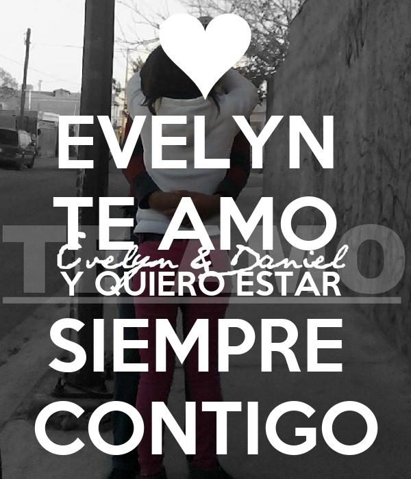 Evelyn te amo imagenes - Imagui