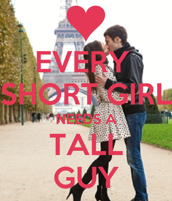 short girl and tall guy dating