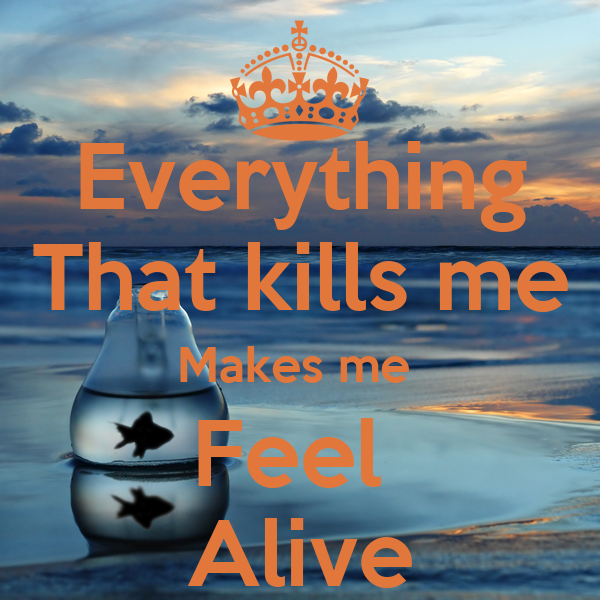 what makes me feel alive essay