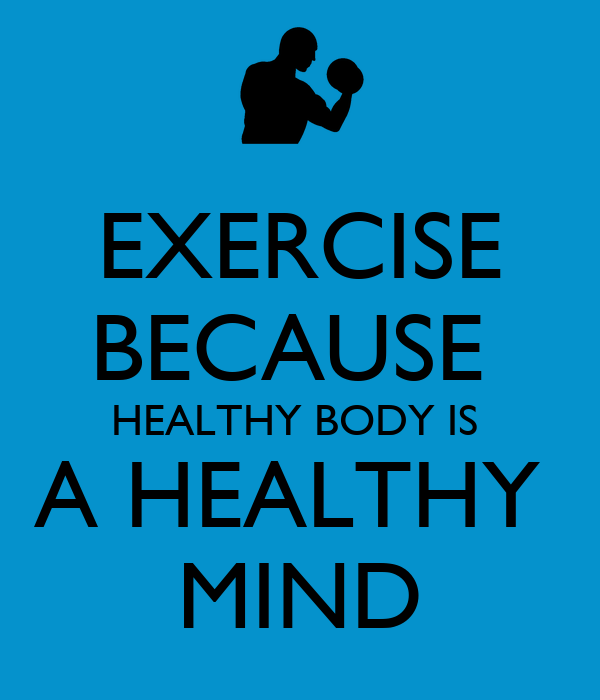 essay about healthy body healthy mind