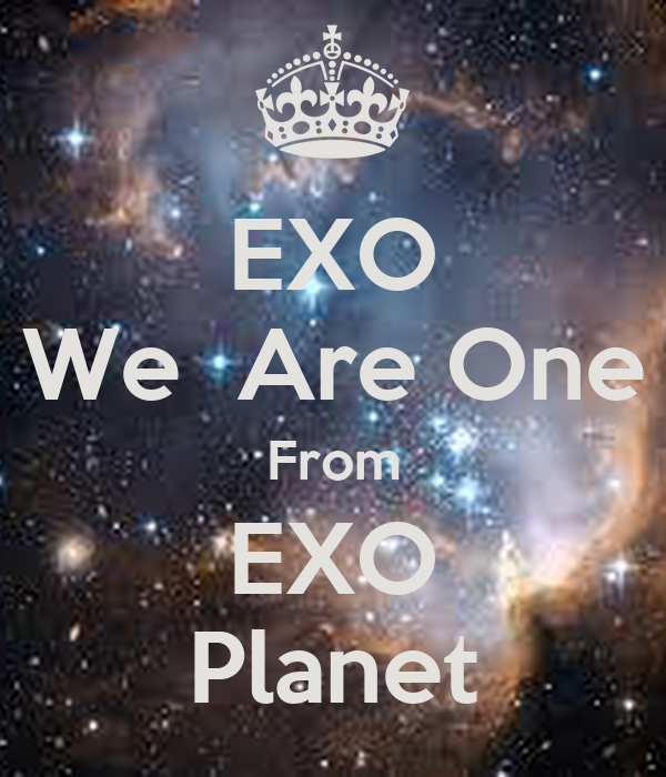 Exo We Are One From Exo Planet Poster Wunsen Keep Calm O Matic