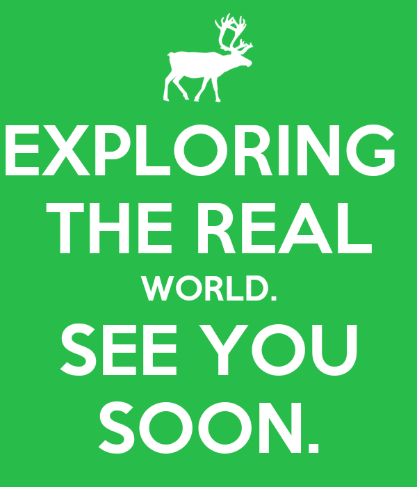 exploring the real world see you soon poster christian moerk