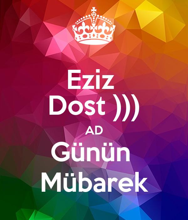 Ad Gunun Mubarek Dostum Images Səkillər