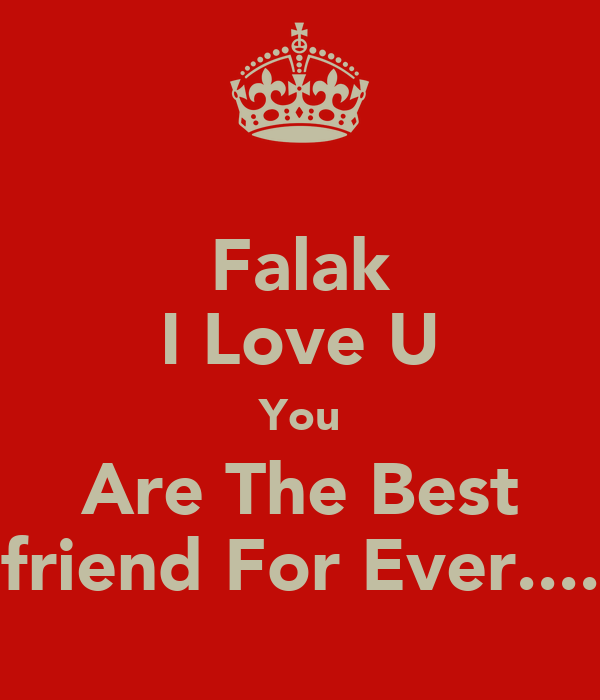 I Love You Friend Wallpaper: Falak New Wallpaper