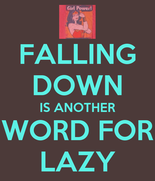 Another Word For Falling