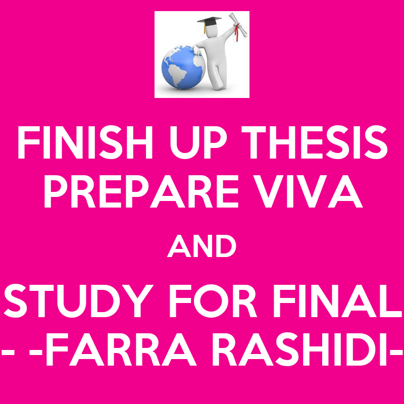 finish thesis Home article 20 tips to help you finish your dissertation 20 tips to help you finish your dissertation i haven't met many phd students who don't like to write some may like writing.