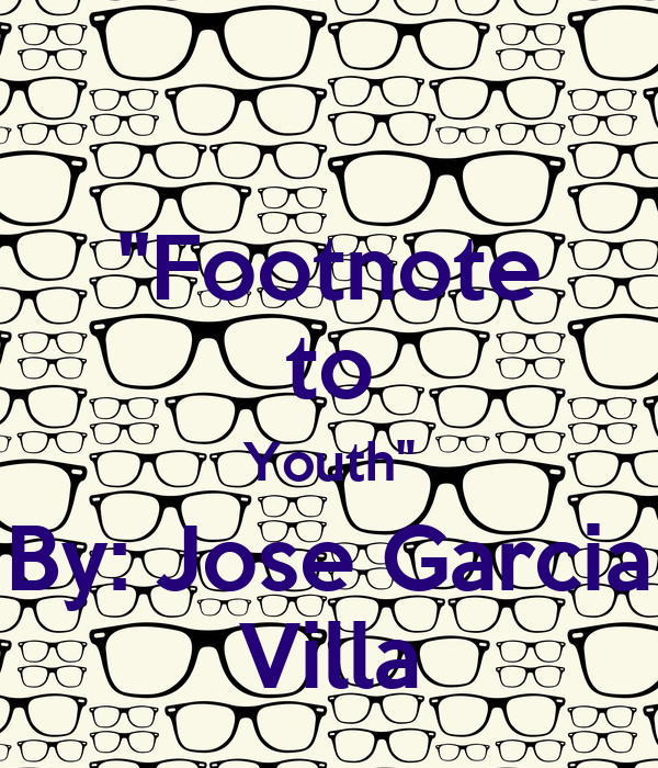 resolution of footnote to youth No longer can you cop everything you think you'll want and wear, this resolution  involves the ability to sus out what's worth the dough, and jump.