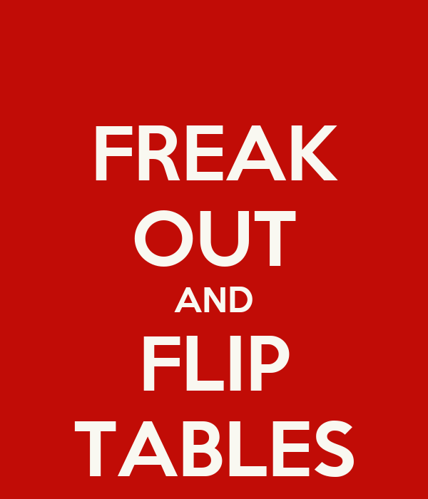 how to make a flip out table